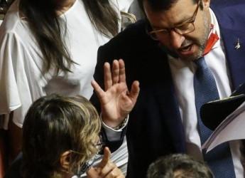 """Open Arms, Senato autorizza processo a Salvini Leader Lega: """"Vado avanti a testa alta"""""""