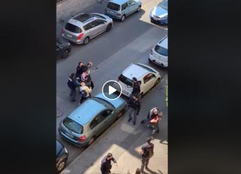 Milano: Arresto in diretta