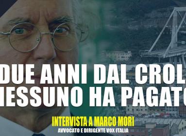 """Marco Mori: """"Nessuno dei Benetton ha pagato per la tragedia del ponte Morandi"""""""