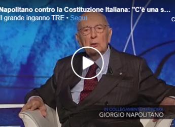 Video Giorgio Napolitano: L'Italia? Non Esiste Più, C'è Solo La Sovranità Dell'Europa